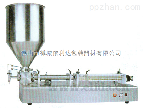 ELD-SFQG气动半自动膏体灌装机