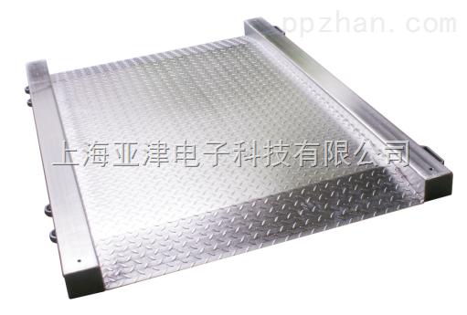 【亚津】物流用单层超低电子地磅