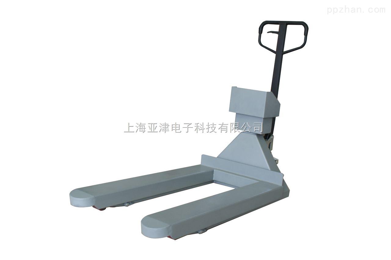 【亚津】3吨电子碳钢防爆叉车秤