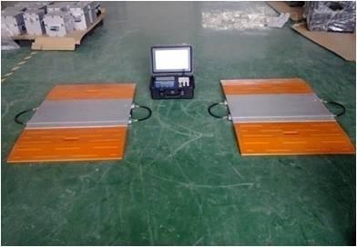 上海亚津便携式限载轴重仪