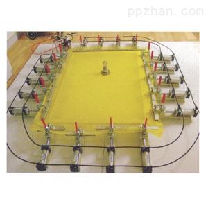 【质优价廉】厂家批发各种绷网机械配件 双幅条手轮 机械地脚