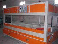 供高品质吸塑制品,全自动成型剪切堆叠计数一体化吸塑机械生产线