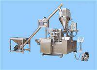 2-500g全自动粉剂灌装机 双工位粉剂灌装轧盖机
